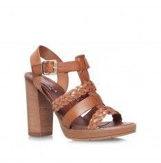 krill tan high heel sandals from Carvela Kurt Geiger