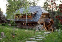 Scopri tra le case country chic più singolari quella a Golden in Colorado: è un piccolo casolare di 150 metri