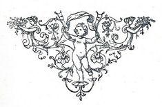 Free Vintage Clip Art - Black and White Printers Ornaments - The Graphics Fairy Clip Art Vintage, Mini Tattoos, Body Art Tattoos, Small Tattoos, Pretty Tattoos, Beautiful Tattoos, Black And White Printer, Medusa Tattoo, Graphics Fairy