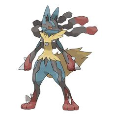 Pokémon X & Y - Mega Lucario is my favorite pokemon Pokemon Team, Pokemon Names, Lucario Pokemon, Mega Lucario, Pokemon X And Y, Mega Pokemon, Charizard, Digimon, Mega Evolution Pokemon