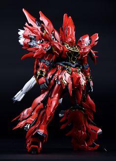 Takumi Studio Sinanju Plastic Conversion Kit - Original Designed by Takumi Studio 職人藝 - This is Colour Plastic Conversion Kit for MG Sinanju Kit. Gunpla Custom, Custom Gundam, I Gen, Robot Design, Gundam Model, Plastic Models, Conversation, The 100, The Originals