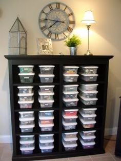 lots of great ideas for craft rooms