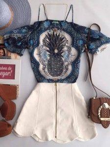 791f6cdda Blusas Femininas - T-shirt, camisetas e regatas. Roupas TopCombinação ...
