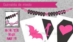 Guirnalda Monster High