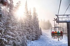 Copper Mountain Colorado is enjoying an extended White Christmas with new powder and snow totals in the double digits.