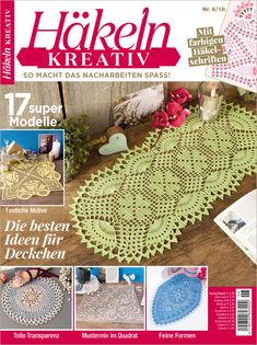 Crochet Dollies, Crochet Magazine, Doilies, Fancy, Decor, Crochet Stars, Crochet Doilies, Crochet Table Runner, Crochet Flowers