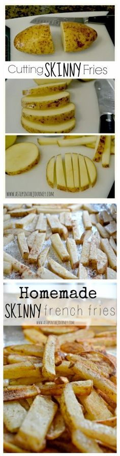 How to Make Skinny Fries in the Oven