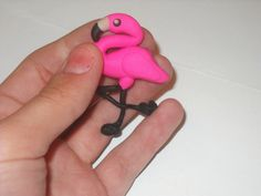 Custom clay flamingo magnet made for a friend of mine. Check out my store mymorningcoffeee.etsy.com for more.