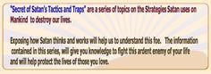 Secret of Satan's Traps and Tactics.