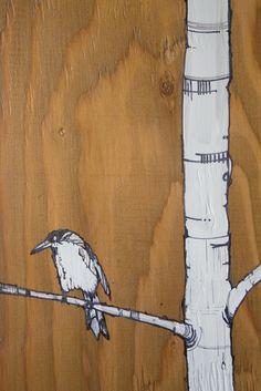 wood art #piel #shoppiel #inspiration