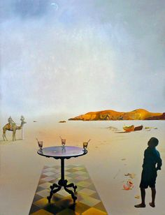 Salvador Dalí. Sun Table. 1936.