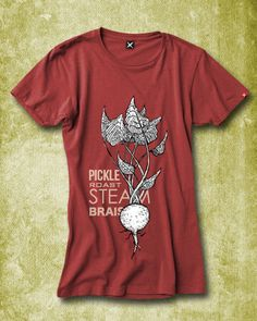 Beet Methods Organic Women's Tee from Butcher & Baker