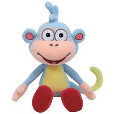 Boots- Dora the Explorer's Monkey Beanie Babies from Just a Touch of Everything
