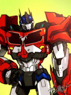 Optimus Prime - TF Prime