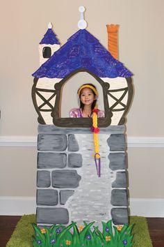 Rapunzel - Tangled Birthday Party Photo Prop