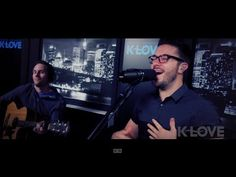 "Danny Gokey ""More Than You Think I Am"" LIVE at K-LOVE - YouTube"