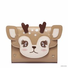 Now available Lolita - Little R... with great discount! Check it out here. http://sophieandbear.com/products/lolita-little-reindeer-wallet?utm_campaign=social_autopilot&utm_source=pin&utm_medium=pin