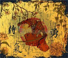 japanese samurai | Japanese Design Inspiration: Samurai and Ninja Vector Illustrations ...