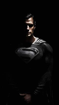 Black Suit Superman - iPhone Wallpapers