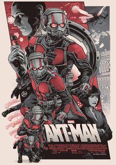 Ant-Men Marvel Superheroes Movie Artwork Cover Poster