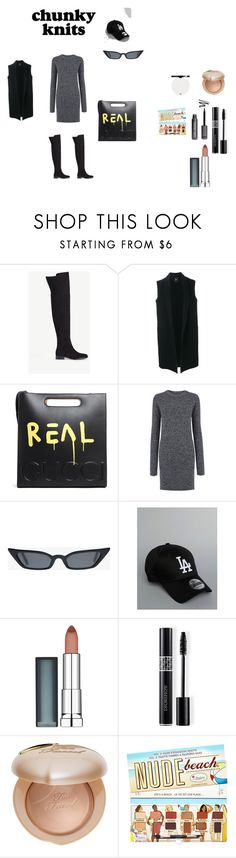 """Senza titolo #818"" by effyswanhaze ❤ liked on Polyvore featuring Ann Taylor, Theory, Gucci, Current/Elliott, New Era, Maybelline, Christian Dior, Too Faced Cosmetics and Sephora Collection"