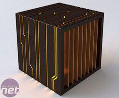 Ebony computer case