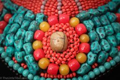 Tibetan necklace Kyi Bhub a beautiful piece made by TheLittleTibet #yakbone #turquoise #tibetan #mala #prayer #necklace #coral #inspired #buddhist #artisan #handicraft #beads #ethical #bohemien #independence #thelittletibet