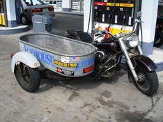 A water tub sidecar !