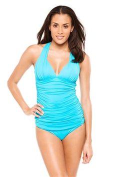 169147e99b Black Friday La Blanca Women s Island Goddess Halter Tankini Top Pacific  Blue 6 from La Blanca. Yuppieragazza · swimsuits
