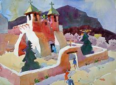 Watercolor Paintings by artist Frank Webb