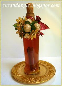 Eve and Apple: Karácsonyi aszalt szilva likőr Recipies, Rum, Perfume Bottles, Food And Drink, Vodka, Xmas, Apple, Home Decor, Recipes