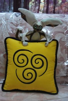 Air Nomad Pillow by zeldalilly on Etsy, $32.00