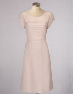 Pale Pink Dresses for Women | Boden Women's Brand New Evelina Dress Pale Pink Occasion Evening ...
