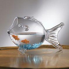 Fish-Shaped Fish Bowl 1890-43318-0729