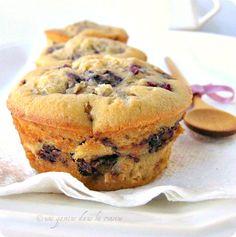 une gamine dans la cuisine: Cherry Muffins