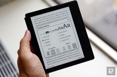 Amazon's high-end Kindle Oasis is sleek, sharp and pricey - http://www.sogotechnews.com/2016/04/13/amazons-high-end-kindle-oasis-is-sleek-sharp-and-pricey/?utm_source=Pinterest&utm_medium=autoshare&utm_campaign=SOGO+Tech+News