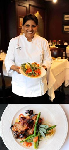 During the 2012 Restaurant Round-Up, Chef Kiran Verma (Kiran's Houston) is featuring dishes made with seasonal Texas produce and paired with Texas wine and Texas beer.