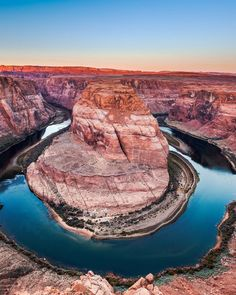 Horseshoe Bend Page, Arizona valley canyon rock Nature mountain rocky wilderness Desert geology landscape crater lake formation plateau Lake national park terrain stone hillside