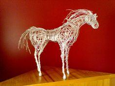 Shelly van Soest Artist: Wire Horse Sculptures
