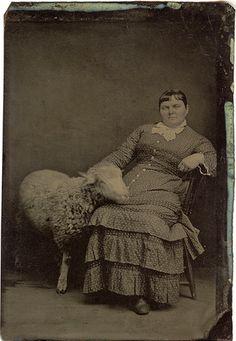 Antique photo: Family Portrait