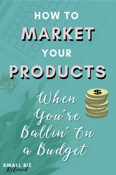 How to Market Your Business On a Tight Budget - Small Biz Refined Business Advice, Business Entrepreneur, Online Business, Start A Business From Home, Starting A Business, Online Marketing, Social Media Marketing, Pottery Lessons, Social Media Influencer