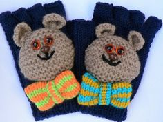 I was just thinking that, instead of having to leave Teddy behind when they went out, it might be fun for the little ones to keep their  companions close to hand, so to speak. Also, I just enjoy knitting quirky little items.