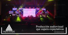 La mejor tecnología para eventos inolvidables. #GrandSupportDisplayArt  www.displayart.com.mx