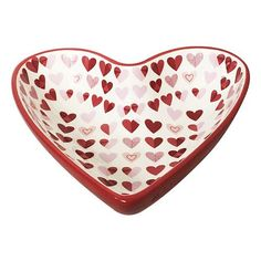Celebrate Valentine's Day Together Heart Candy Bowl