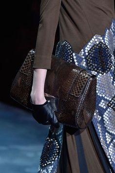 The Runway Report: Fall 2015 Handbag Trends  - HarpersBAZAAR.com