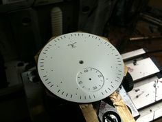 After spraying and printing. Birth, Printing, Clock, Watch, How To Make, Handmade, Hand Made, Bracelet Watch, Being A Mom