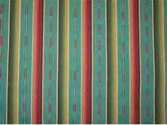 Sundance Stripe Turq Multi 2255/2 -The Fabric Mill