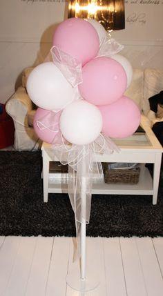 DIY No-helium balloon decoration