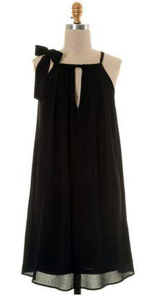 The Valentina Bow Tie Dress
