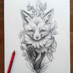 Undaunted #wannado #foxesofinstagram #foxtattoo #foxcub #gruengold #foxcraft #fuchs #füchseschnürennunmalmeisterhaft